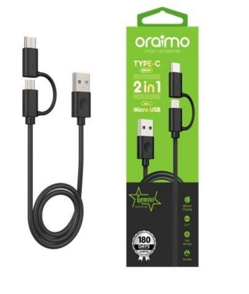 Oraimo Data Cable OCD-D102 Type-C+2.0