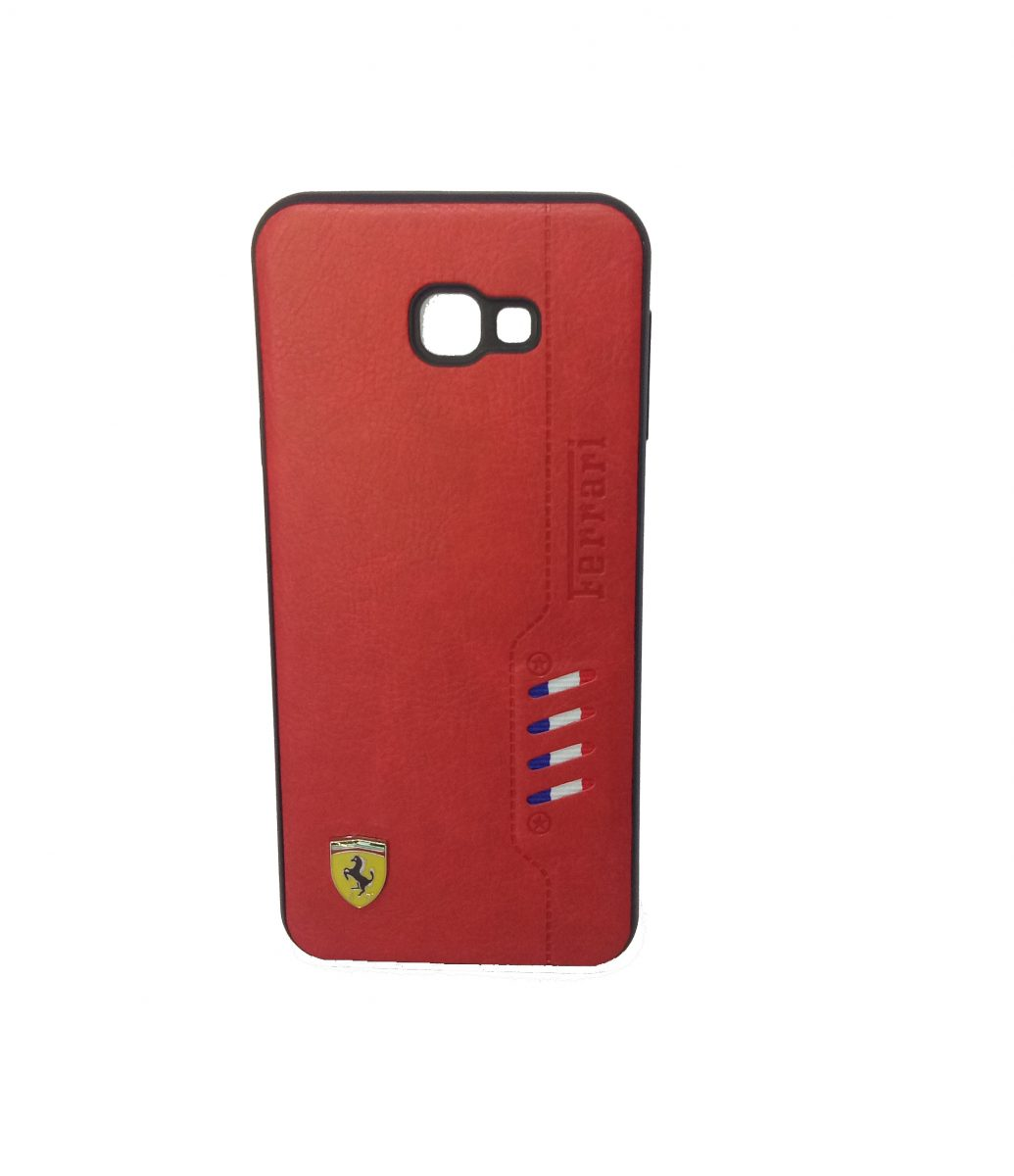 Samsung J6 Plus Leather Back cover