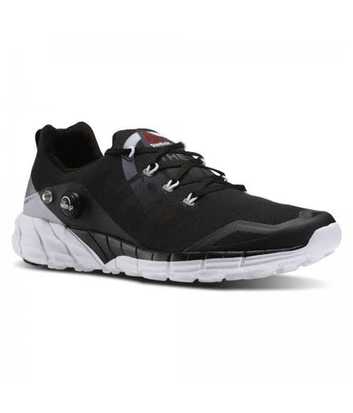 Reebok Pump Black running Shoes