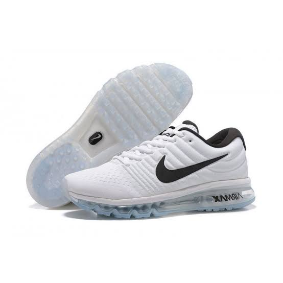 Airmax 2017 Sports Shoes (White)