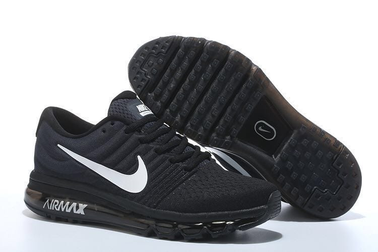 Airmax 2017 Sports Shoes (Black)