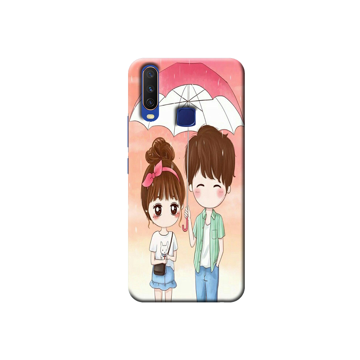 Vivo Y12 / Y15 / Y17 Back cover (Love Couple)