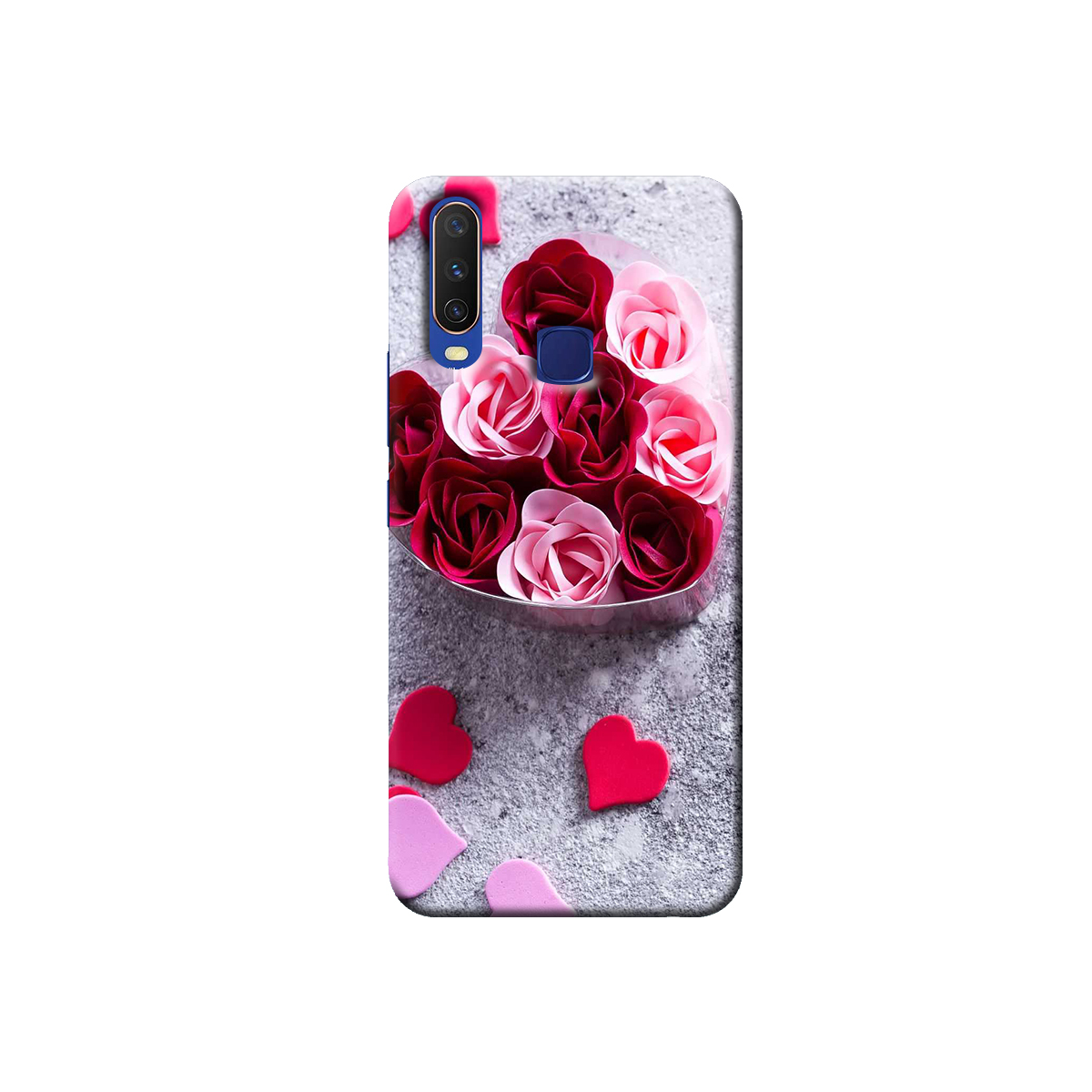 Vivo Y12 / Y15 / Y17 Back cover (Rose)
