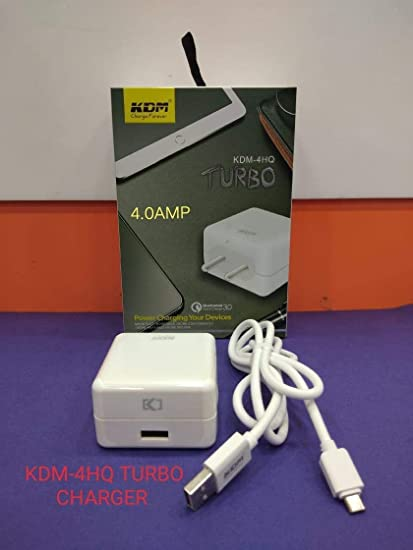 KDM 4.0 Amp Vooc turbo fast charger (KM-4HQ)