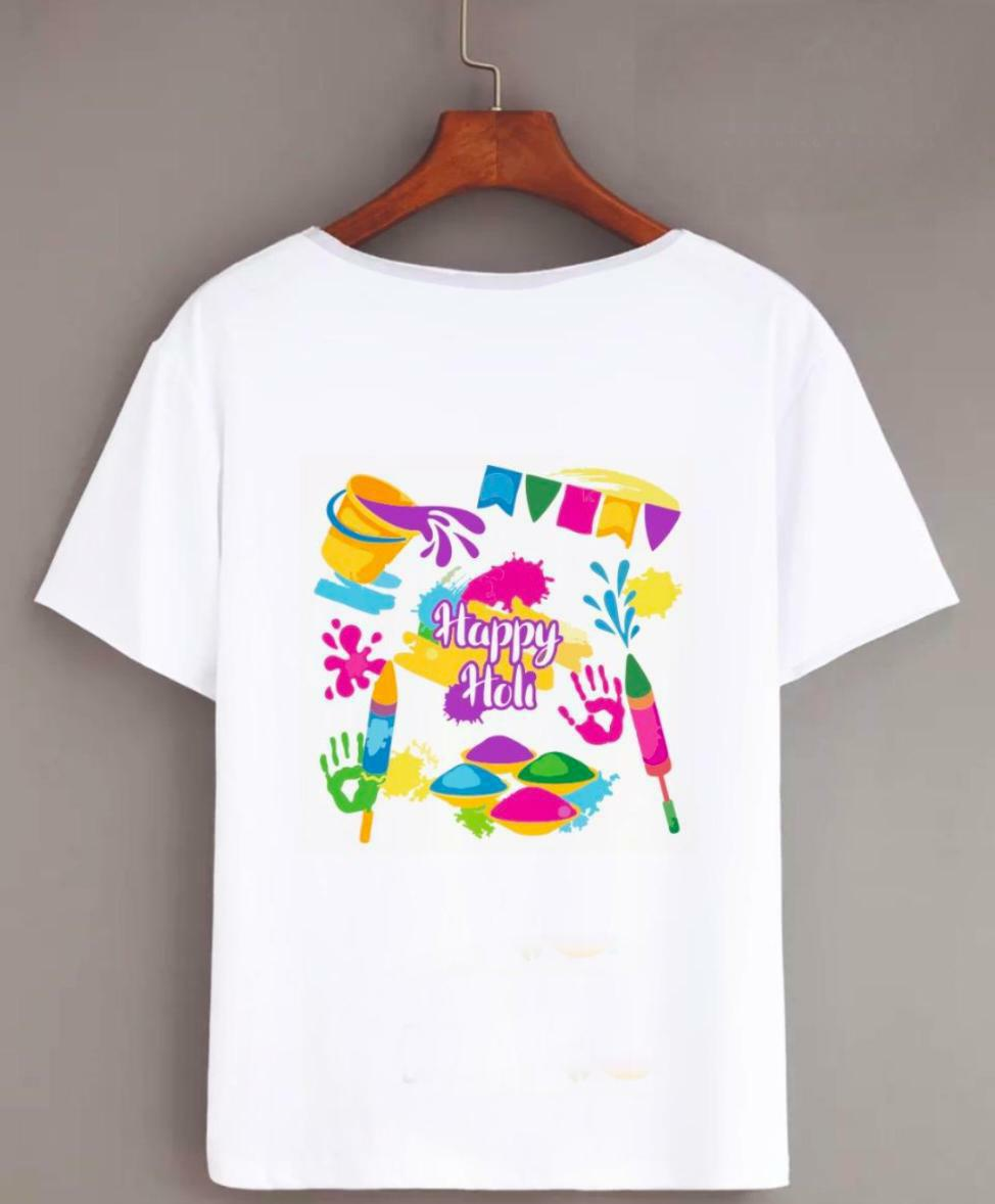 Happy Holi Tshirt (Rang)