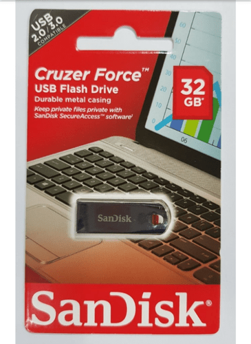 Sandisk 32GB Metal Pendrive (PD)