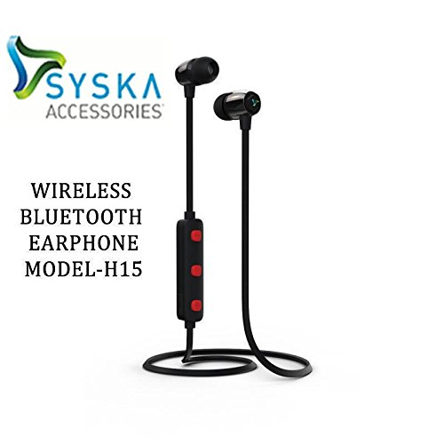 syska H15 bluetooth earphones Wireless