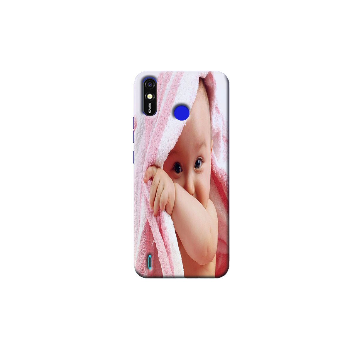 Tecno Spark go Plus Back Cover (cute Baby)