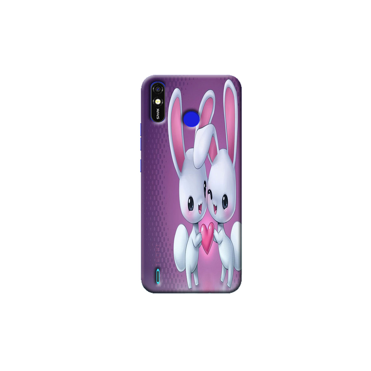 Tecno Spark go Plus Back Cover (rabbit)