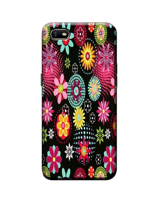 oppo A1k Back cover (Floral)