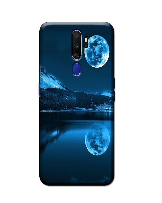 oppo a9 2020 back cover (Blue Moon)