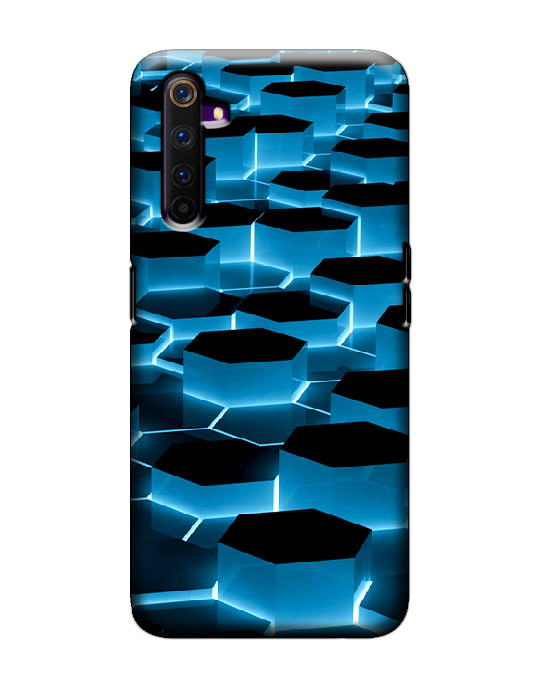Realme 6 pro Mobile Back Cover (Hexa)