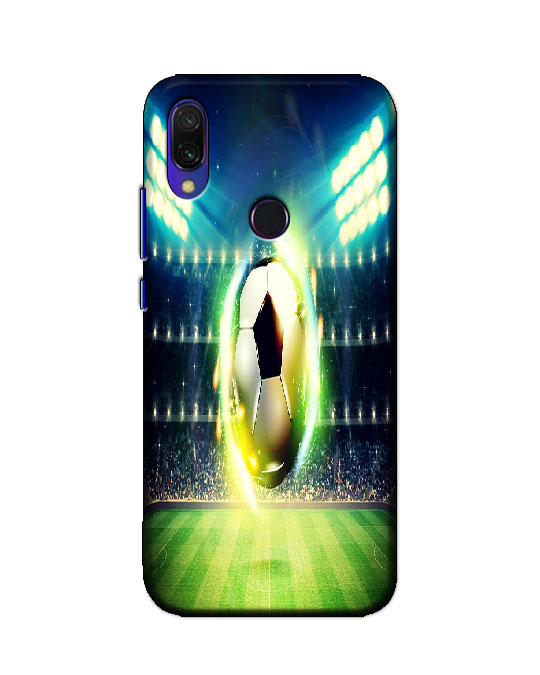 redmi y3 back cover (football)