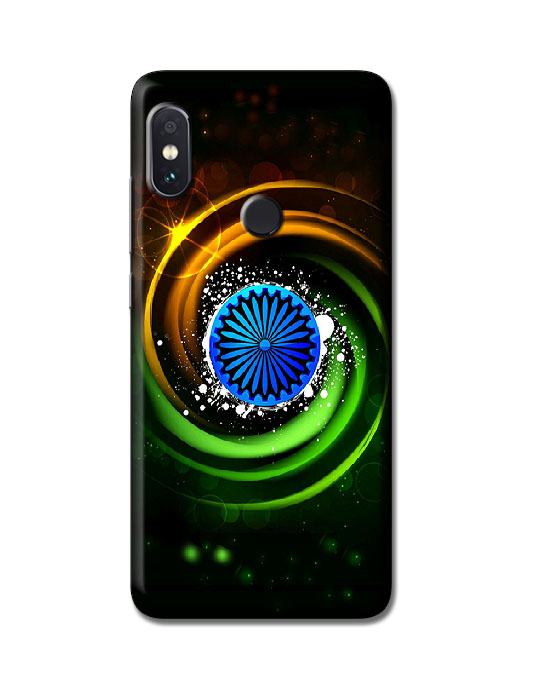 mi note 5 pro back covers ( Tiranga )