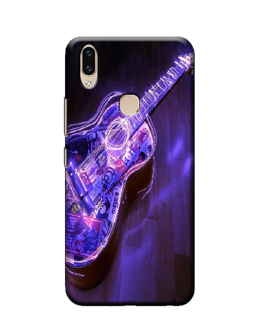 vivo v9 back cover (guitar)