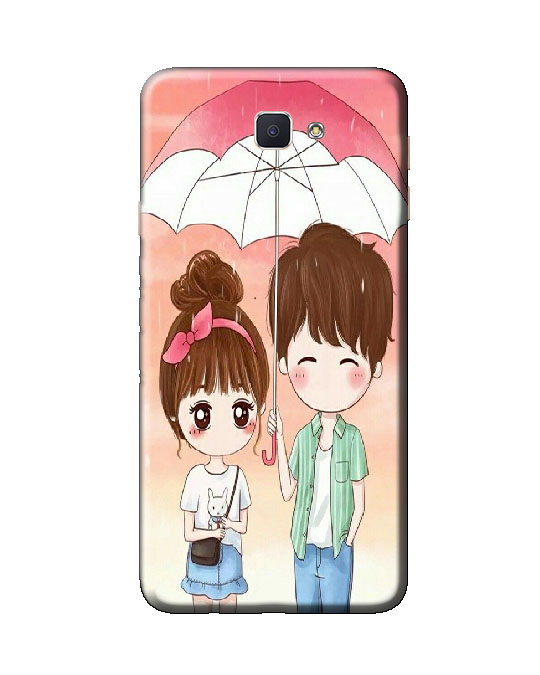 samsung galaxy j7 prime back cover (love umbrela)