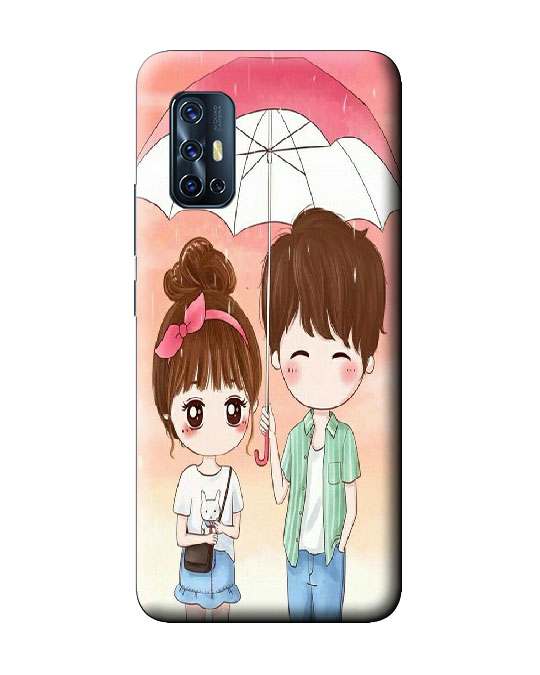 vivo V17 back cover (Love couple)