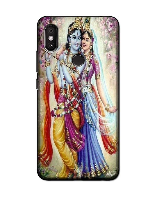 redmi y2 back cover (Radhe krishna)