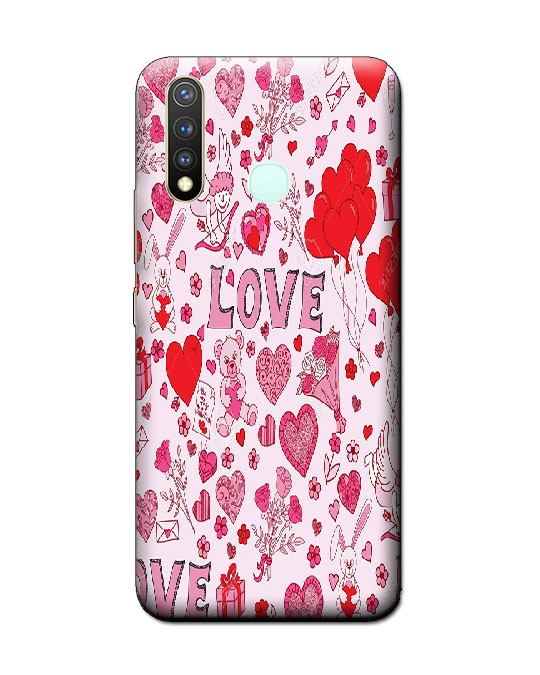vivo y19 back cover (Love)