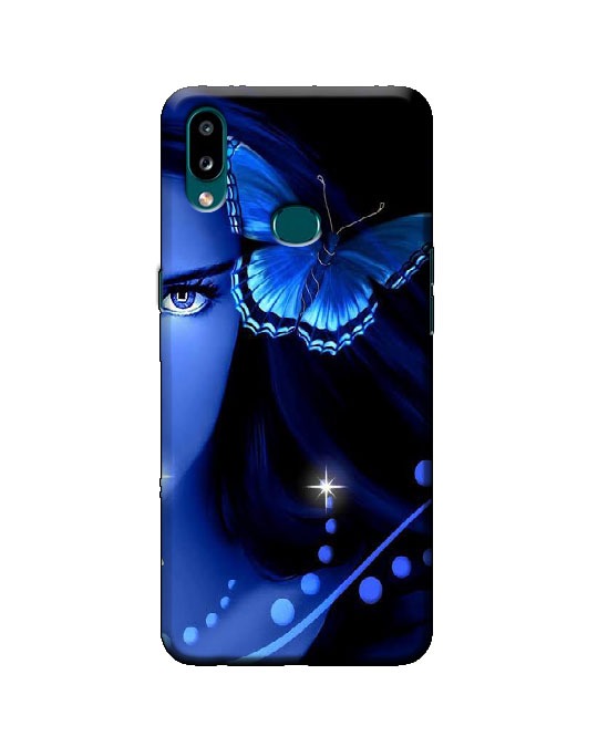 samsung A10s phone cover (butterfly)