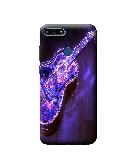 Honor 7A mobile back cover (guitar)