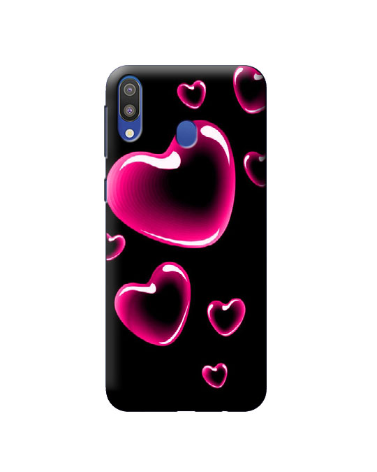 samsung M20 Mobile back cover (pink love)