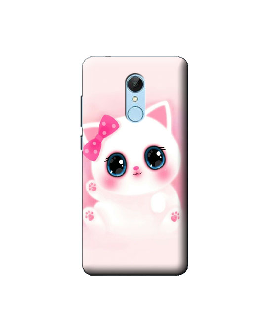 Redmi 5 Mobile Back cover (Cat)