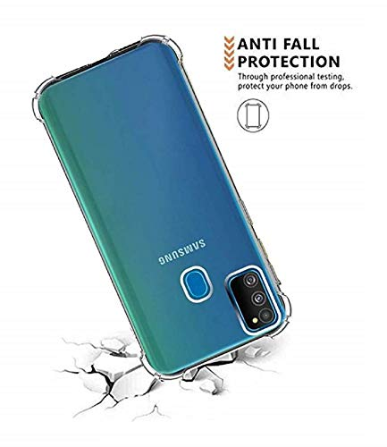 Samsung M31 Transparent Back cover