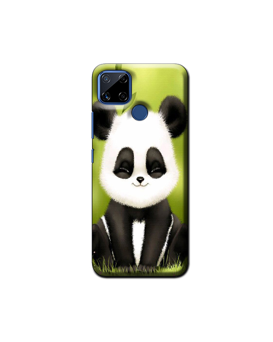 Realme C15 Mobile Back Cover (panda)
