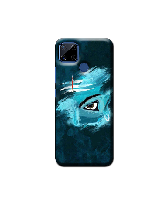 Realme C15 Mobile Back Cover ( shiva)