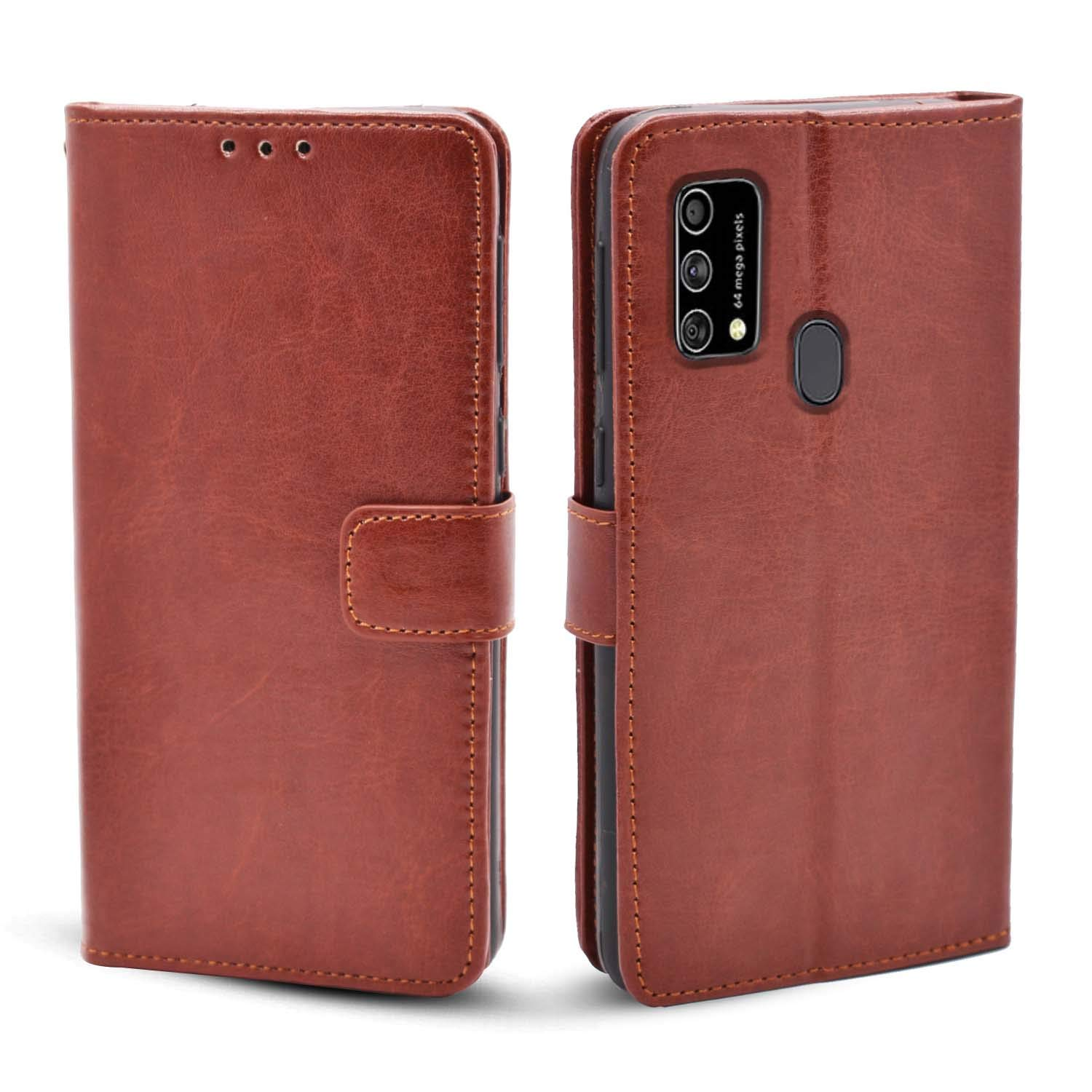 Samsung Galaxy F41 Flip Cover Red Colour