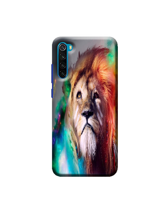 Xiaomi Redmi Note 8 mobile Back cover (Lion)