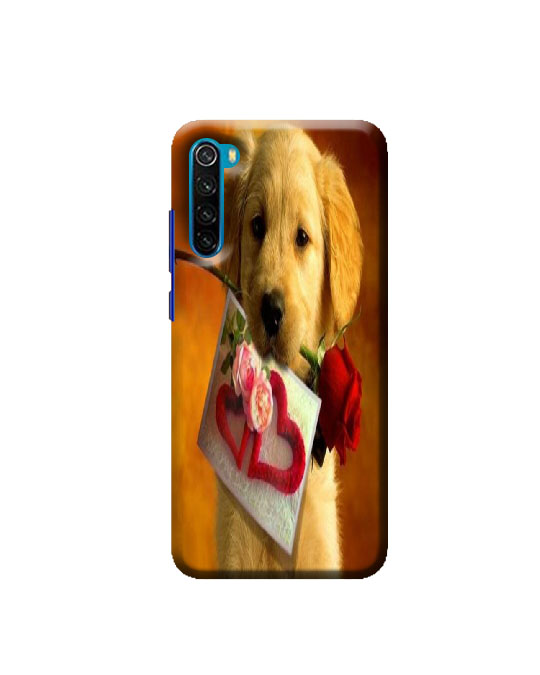 Xiaomi Redmi Note 8 mobile Back cover (Dog)