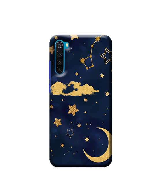 Redmi Note 8 phone case (moon & star) Price 99 Rs Only