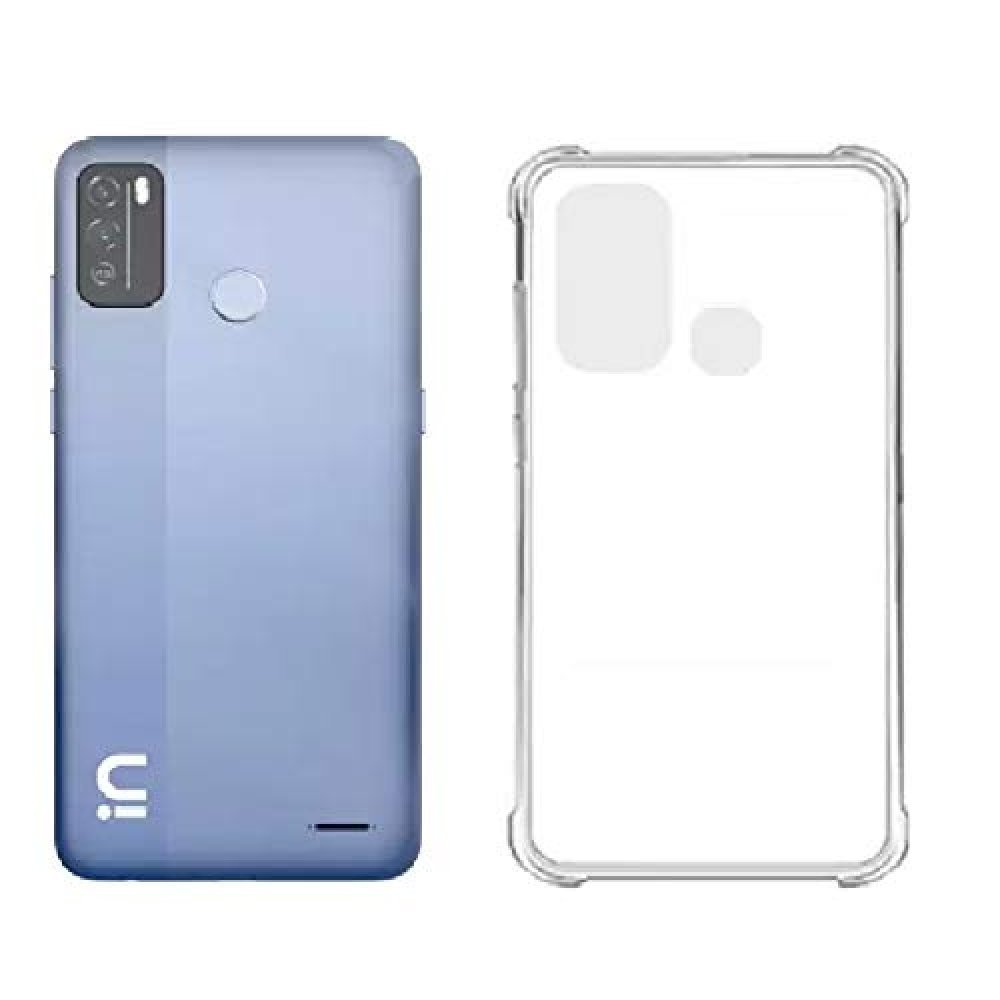 Micromax in 1b Soft Transparent Mobile Back Cover