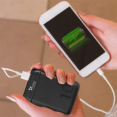 power bank 10000mah Compact size
