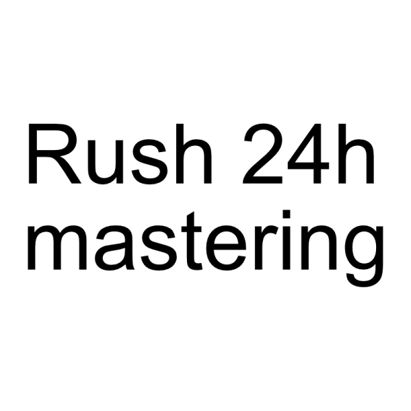 rush option for mastering services