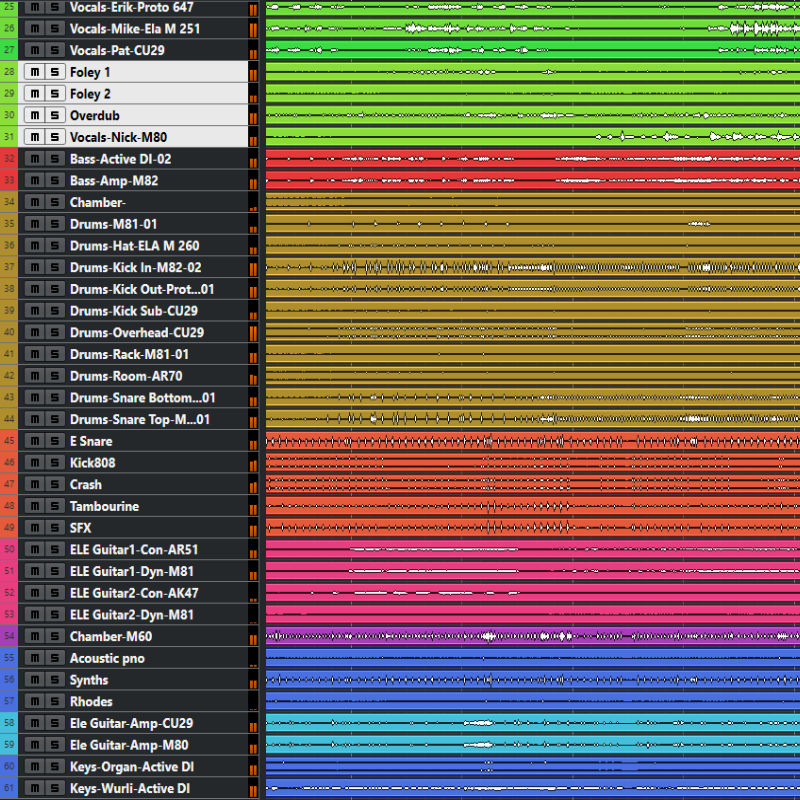 mixing 49 to 64 tracks; product id 26