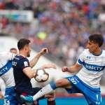 Universidad de Chile y Universidad Católica igualaron 1-1 este domingo en el Estadio Nacional