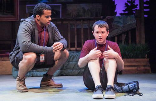 (l-r) Thony Mena and Chris Stinsonin Another Way Home at Theater J. Photo: by C. Stanley Photography.