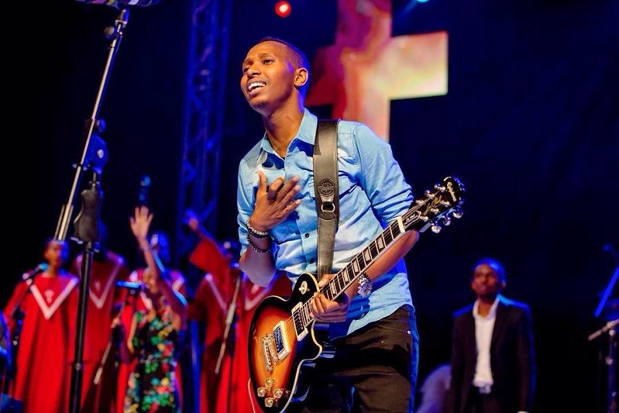 Gospel Singer Israel Mbonyi Steals the Show at Iwacu Muzika Festival - News    Mdundo.com
