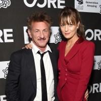 Sean Penn, girlfriend Leila George