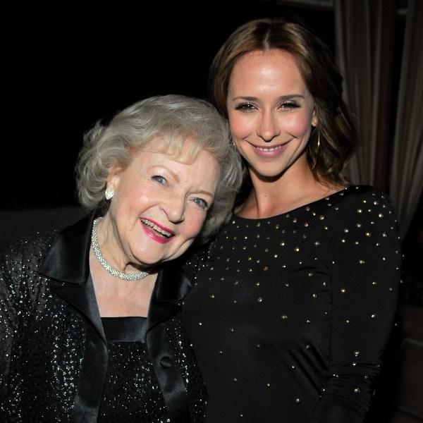 Betty White and Jennifer Love Hewitt