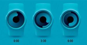 Lire l'heure sur une montre ZIIIRO