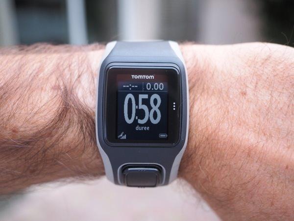 TomTom GPS Runner lisibilite