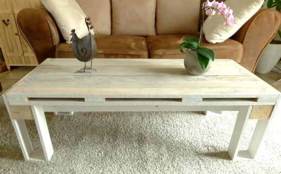 diy table basse design en palette