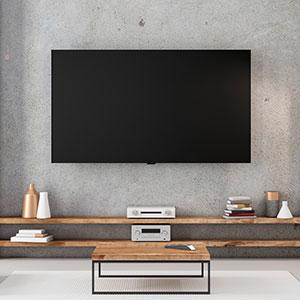 comment fixer une television au mur
