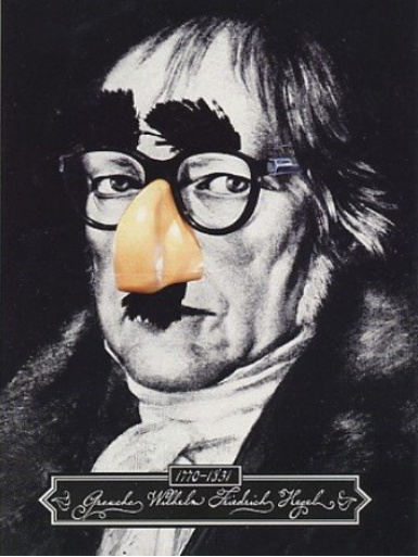 hegel-false-nose depoliticisation