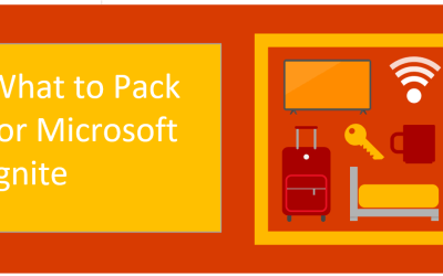 What to pack for Microsoft Ignite