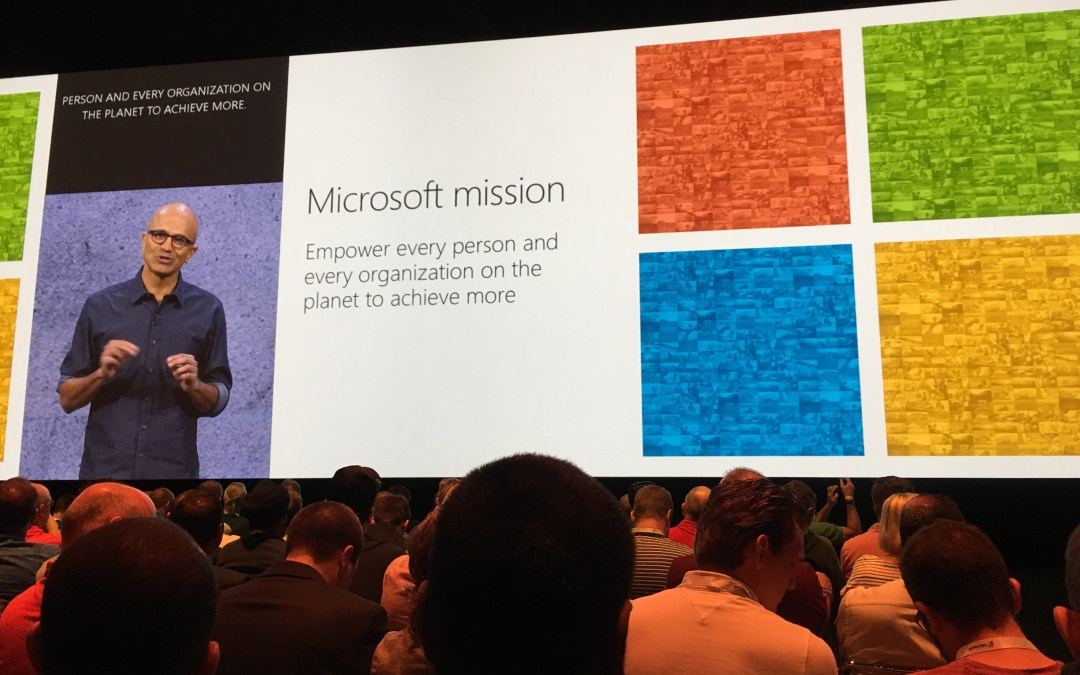 My Microsoft Ignite 2017 Experience and my HitRefresh Moment